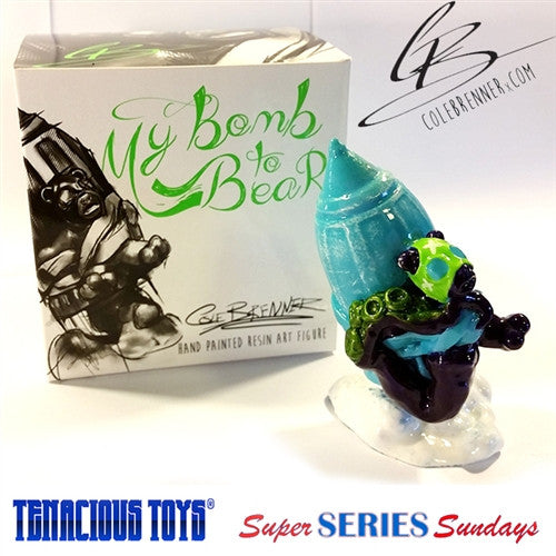 My Bomb to Bear 3.5-in resin blind box figure by Cole Brenner - Tenacious Toys® - 3