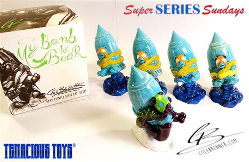 My Bomb to Bear 3.5-in resin blind box figure by Cole Brenner - Tenacious Toys® - 5