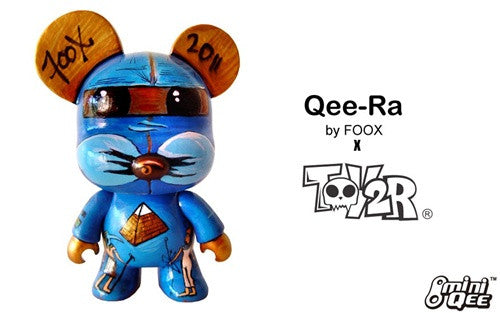 Custom 5 inch Mini Qee Qee-Ra by Foox vendor-unknown Custom Tenacious Toys®