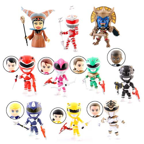 Mighty Morphin Power Rangers Blind Box Action Vinyls Mystery Figure by The Loyal Subjects - Tenacious Toys® - 3