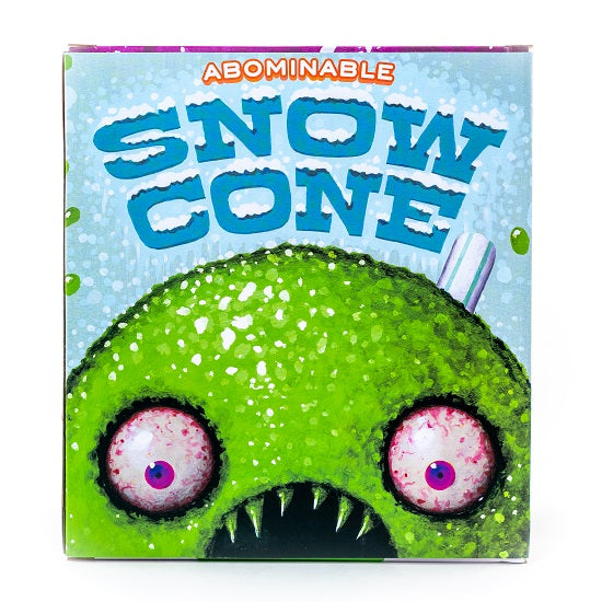 Jason Limon The Abominable Snowcone Lime Edition 7in vinyl figure by Martian Toys PREORDER SHIPS MAY 2019 Martian Toys Vinyl Art Toy Tenacious Toys®