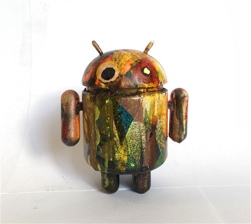 Mr Munk Custom 3-inch Android C vendor-unknown Custom Tenacious Toys®