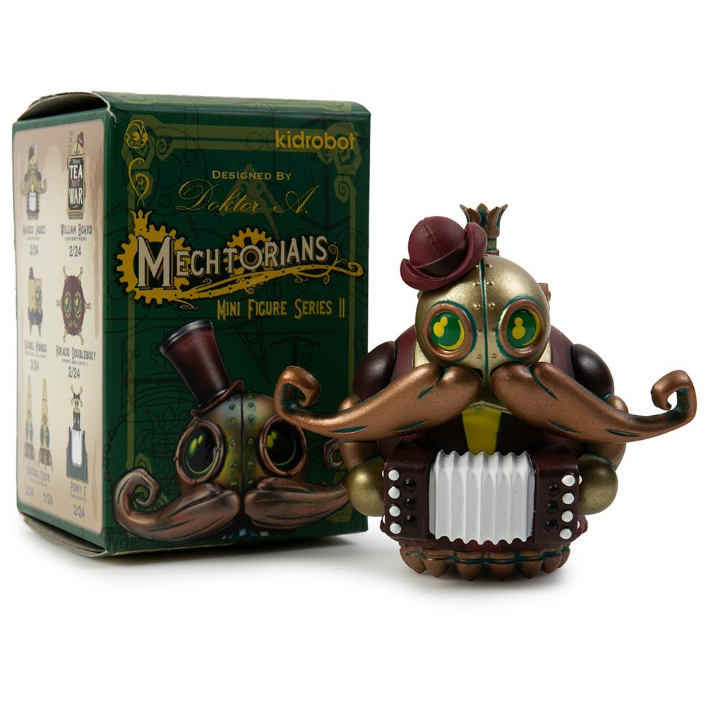Doktor A Mechtorians Mini Series 3-inch blind box figure by Kidrobot Kidrobot Vinyl Art Toy Tenacious Toys®