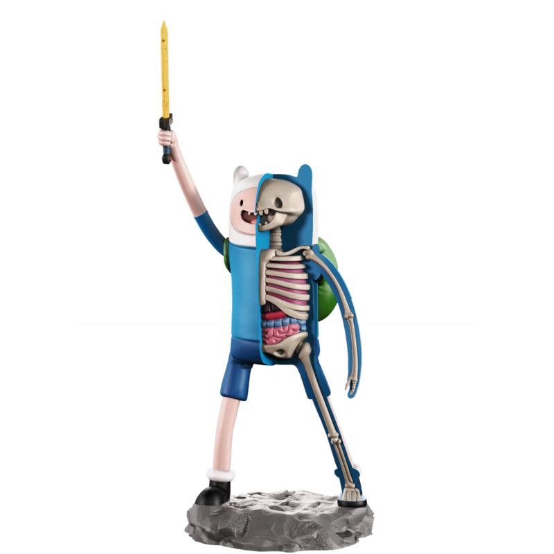 XXRAY Adventure Time Finn 4-inch PVC figure by Mighty Jaxx & Jason Freeny MightyJaxx Vinyl Art Toy Tenacious Toys®