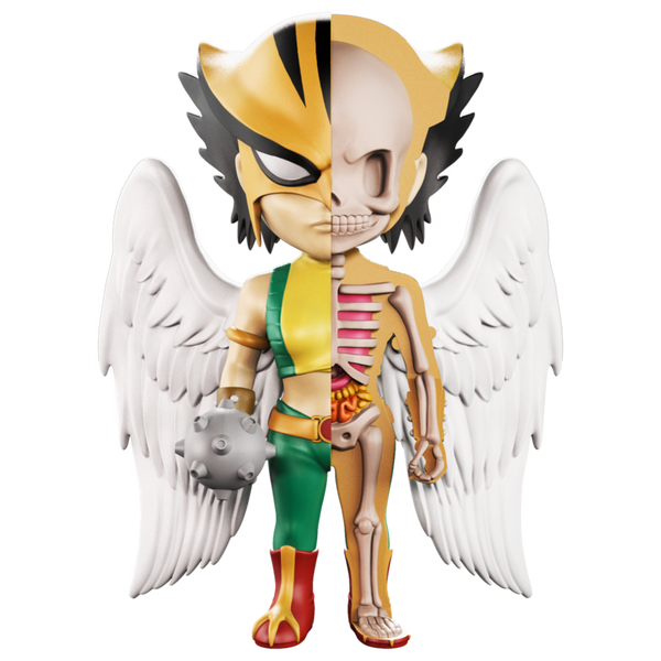 XXRAY Hawkgirl 4-inch figure by MightyJaxx and Jason Freeny MightyJaxx Vinyl Art Toy Tenacious Toys®