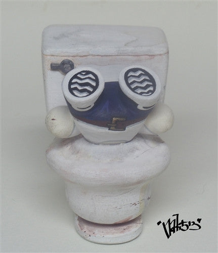 """Make a Run for the Toilet"" custom BellHead by nati513 vendor-unknown Custom Tenacious Toys®"