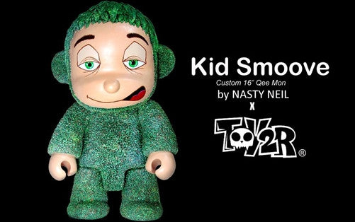 "Kid Smoove 16"" Qee custom by Nasty Neil of Wasted Talent vendor-unknown Custom Tenacious Toys®"