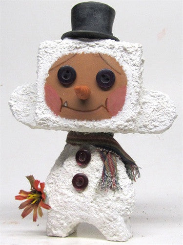 """Ben"" the Gingerbread Snowman custom MadL by Mike NEMO Mendez NEMO Custom Tenacious Toys®"