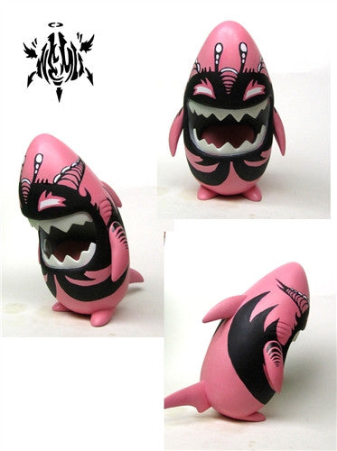 Custom Pink Shadow Sharky by NEMO - Tenacious Toys®