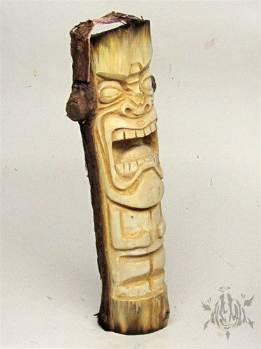 Tikistein wood carving by Mike NEMO Mendez - Tenacious Toys® - 4