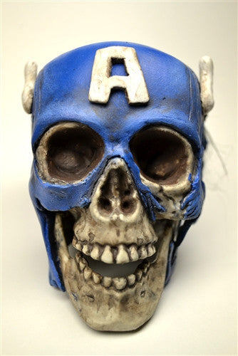 Custom Zombie Heroes Captain America by NEMO vendor-unknown Tenacious Toys®