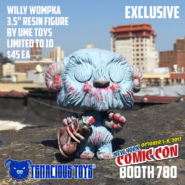 "Willy Wompka 3.5"" resin figure by UME Toys EXCLUSIVE UME Toys Resin Tenacious Toys®"
