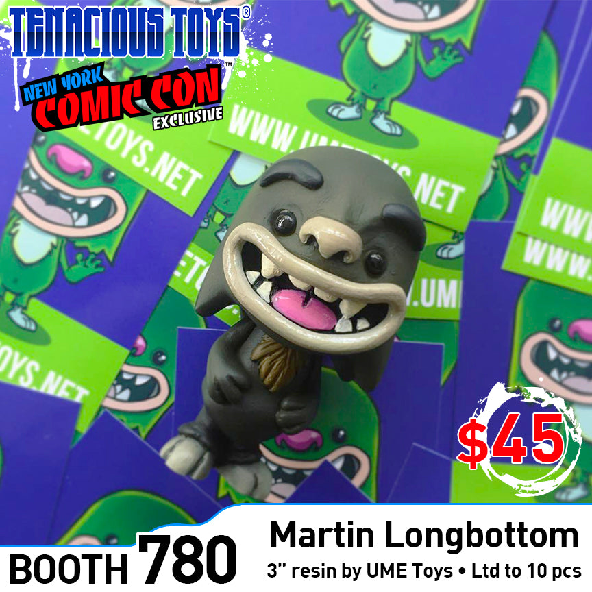 Martin Longbottom 3-inch resin figure by UME Toys NYCC Exclusive