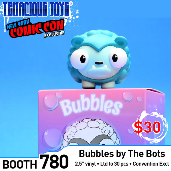 "Bubbles Convention Exclusive 2.5"" vinyl figure by The Bots & UVD Toys UVD Toys Vinyl Art Toy Tenacious Toys®"