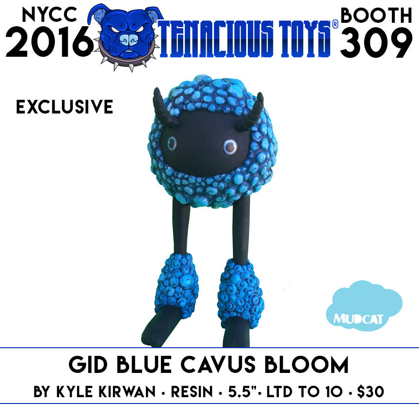 NYCC Exclusive Cavus Bloom: Bromine Edition by Kyle Kirwan - Tenacious Toys®