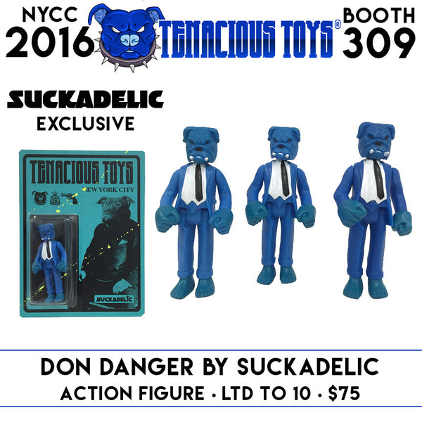NYCC Exclusive Tenacious Toys Don Danger Action Figure by Suckadelic - Tenacious Toys® - 1