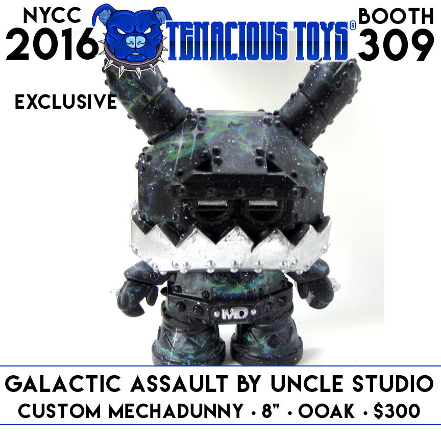 "NYCC Exclusive Galactic Assault Custom 8"" MechaDunny by UNCLE Studio Tenacious Toys®  Tenacious Toys®"