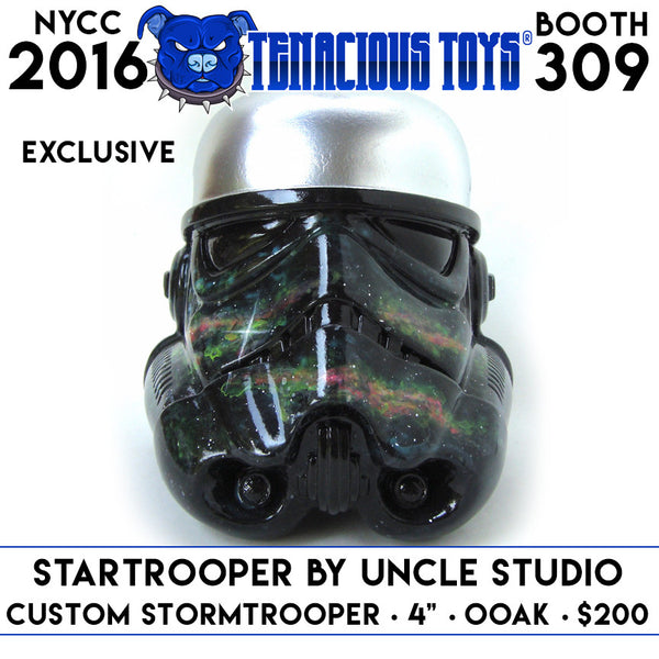 "NYCC Exclusive Startrooper Custom 4"" Stormtrooper by UNCLE Studio Tenacious Toys® Tenacious Toys®"