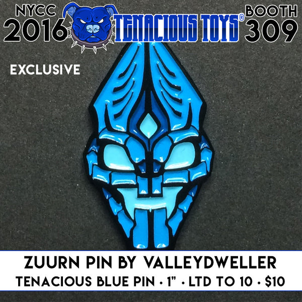 NYCC Exclusive Zuurn 1-inch Pin by ValleyDweller Tenacious Toys® Tenacious Toys®
