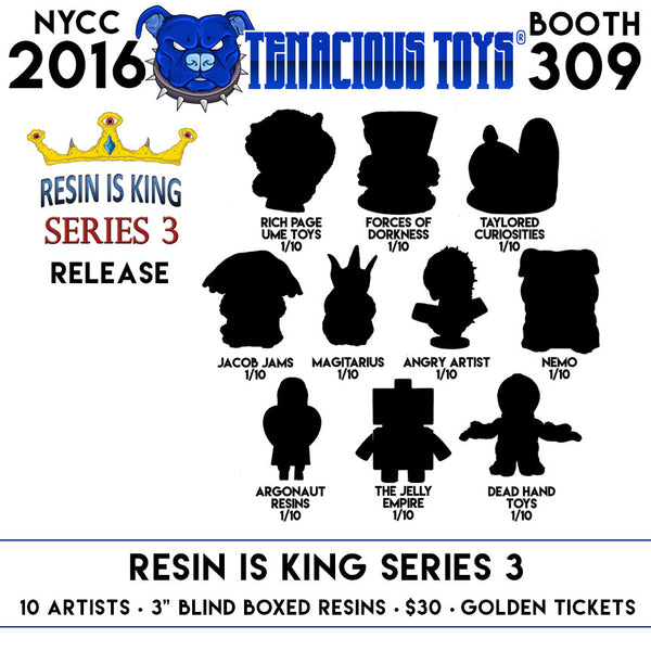 Resin Is King Series 3 Blind Box Mystery Figure - Tenacious Toys® - 2