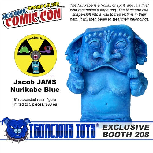 NYCC Exclusive Blue Nurikabe by Jacob JAMS - Tenacious Toys®