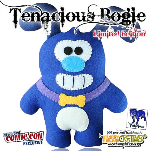 Furry Feline Creatives NYCC Exclusive Bogie plush vendor-unknown Tenacious Toys®
