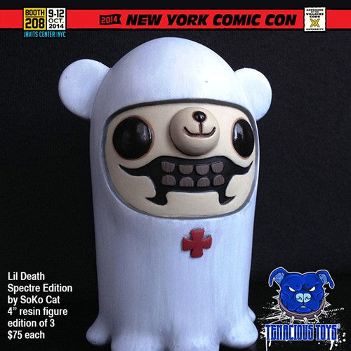 Lil Death Spectre Edition resin figure by SoKo Cat NYCC Exclusive SoKo Cat NYCC2015 Tenacious Toys®