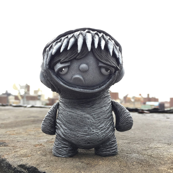 The Inner Child Custom Greyscale 4.5-inch figure by Nerviswrek
