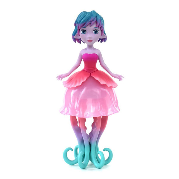 Ellie the Jellyfish Princess 8.5-inch vinyl figure by MJ Hsu & UVD Toys UVD Toys Vinyl Art Toy Tenacious Toys®