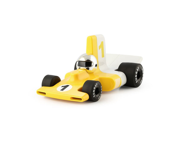 Playforever Verve Velocita Racing Car Yellow Jacques Edition