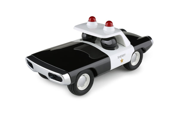 Playforever Maverick Heat Police Car Sheriff Black & White Edition