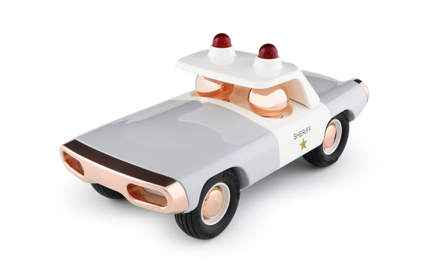 Playforever Maverick Heat Police Car Sheriff White & Grey Edition