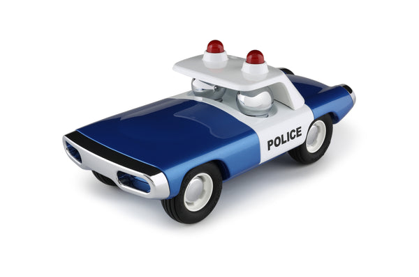 Playforever Maverick Heat Car Police Blue Edition
