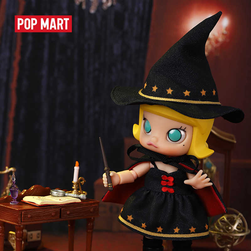 Little Witch Molly Ball Jointed Doll by Pop Mart x Kennyswork PREORDER ships March Pop Mart Doll Tenacious Toys®