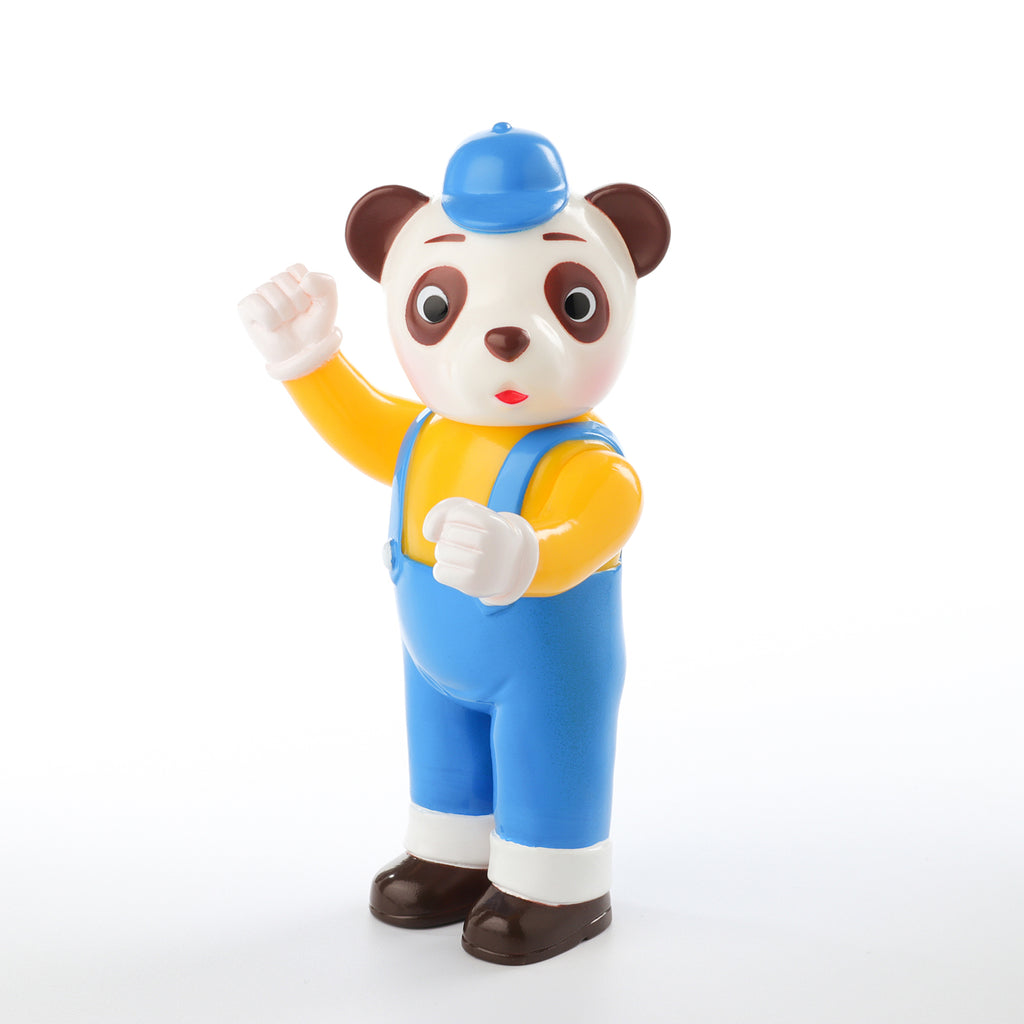 Pointless Island Panda Worker 5-inch vinyl figure by Awesome Toys Pointless Island Vinyl Art Toy Tenacious Toys®