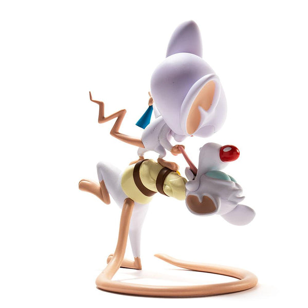 Kidrobot Pinky and the Brain 7-inch vinyl art toy figure