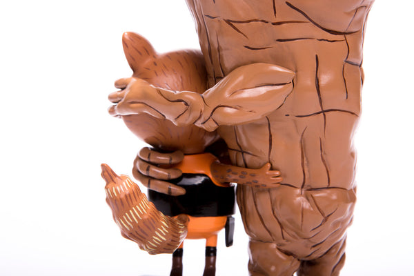 Guardians of the Galaxy Rocket & Groot: Treehugger 9-inch Vinyl Figure Mondo Tees Tenacious Toys®