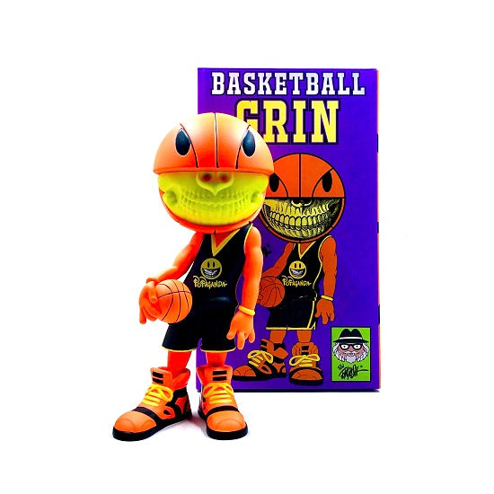 Ron English Basketball Grin 7-inch vinyl figure