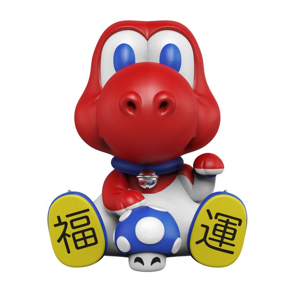 Maneki-Dino By Juce Gace Red Edition 8-inch vinyl figure by Mighty Jaxx