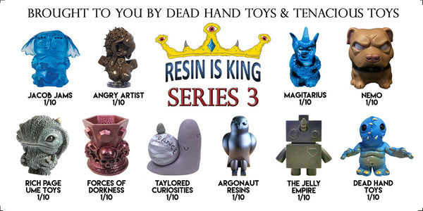 Resin Is King Series 3 Blind Box Mystery Figure - Tenacious Toys® - 1