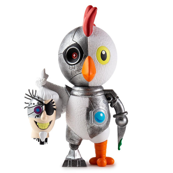 Kidrobot Adult Swim Robot Chicken Medium 6-inch Vinyl Figure
