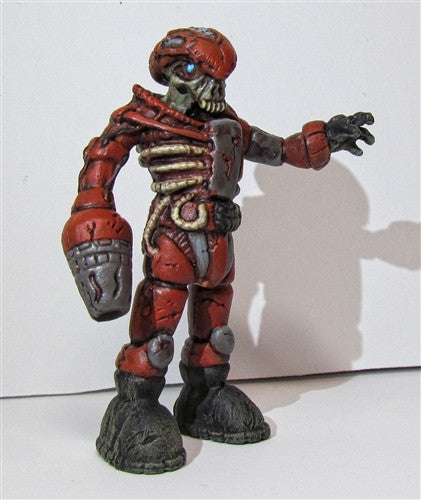 Custom Zombie Pheyden Blood Battalion figure by Small Angry Monster - Tenacious Toys® - 1