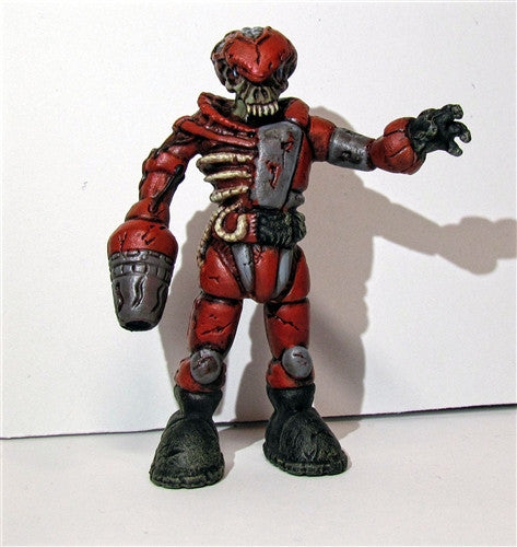 Custom Zombie Pheyden Blood Battalion figure by Small Angry Monster - Tenacious Toys® - 2