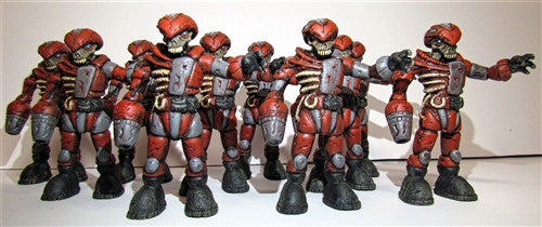 Custom Zombie Pheyden Blood Battalion figure by Small Angry Monster - Tenacious Toys® - 3