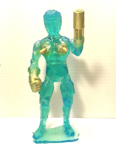 Super Sandbagger Death Nipples Tenacious Exclusive Ocean Galaxy edition 7-inch resin figure - Tenacious Toys® - 1