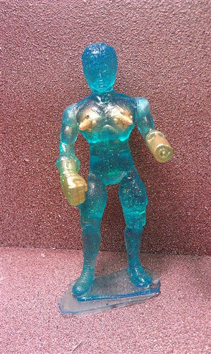 Super Sandbagger Death Nipples Tenacious Exclusive Ocean Galaxy edition 7-inch resin figure - Tenacious Toys® - 3