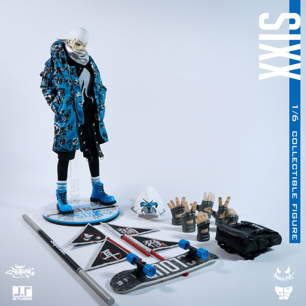 Street Mask SIXX 1/6-scale action figure by JT Studio