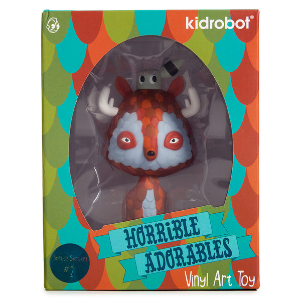 Kidrobot Horrible Adorables Spruce Spricket 4in vinyl figure - Tenacious Toys® - 5