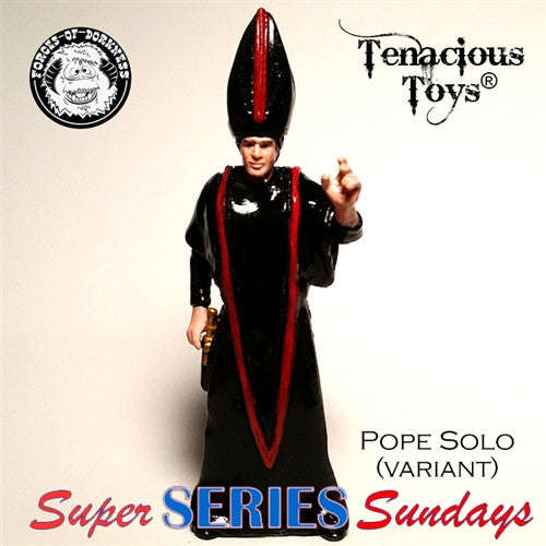Forceolicism 3: Pope Solo blind-bagged resin figure by Forces of Dorkness - Tenacious Toys® - 2