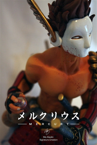 Mercury 16-inch resin sculpture by Mo Abedin vendor-unknown Resin Tenacious Toys®